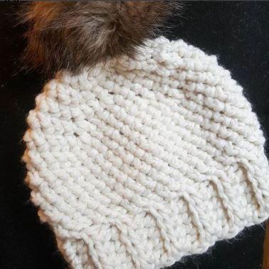 Snowbird Crochet Hat Free Pattern