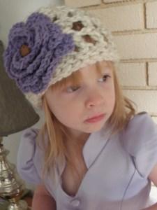 Crochet Open Weave Hat Pattern - Abby