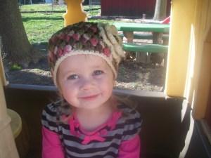 Joanie's crochet hat
