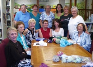 Knotty Knitters of the Delmont Public Library