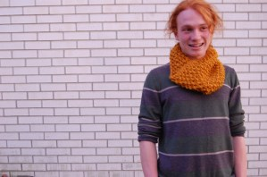 Men's Crochet Cowl