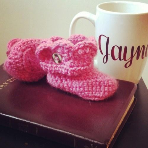 Crochet Bootie Pattern