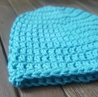 Close Up Men's Crochet Hat