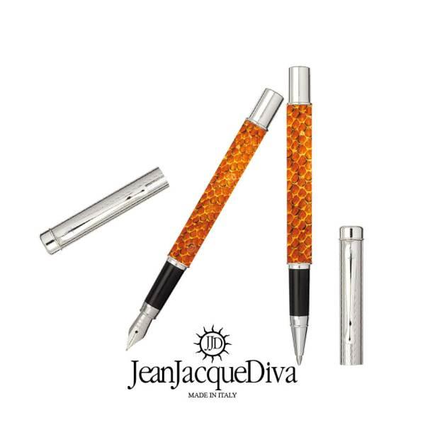 JeanJacqueDiva JJD1959 dedica a Manzoni una collezione di penne esclusive argento 925‰