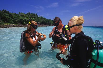 cayman scuba instruction