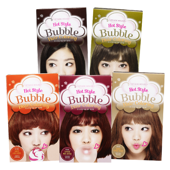 Etude House NEW Hot Style Bubble Hair Coloring 8 Colors