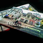 60 pages of amazing photos of Yangon (Rangoon). Hard cover.