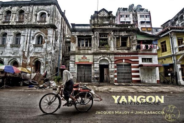 Book cover Yangon a City to Rescue