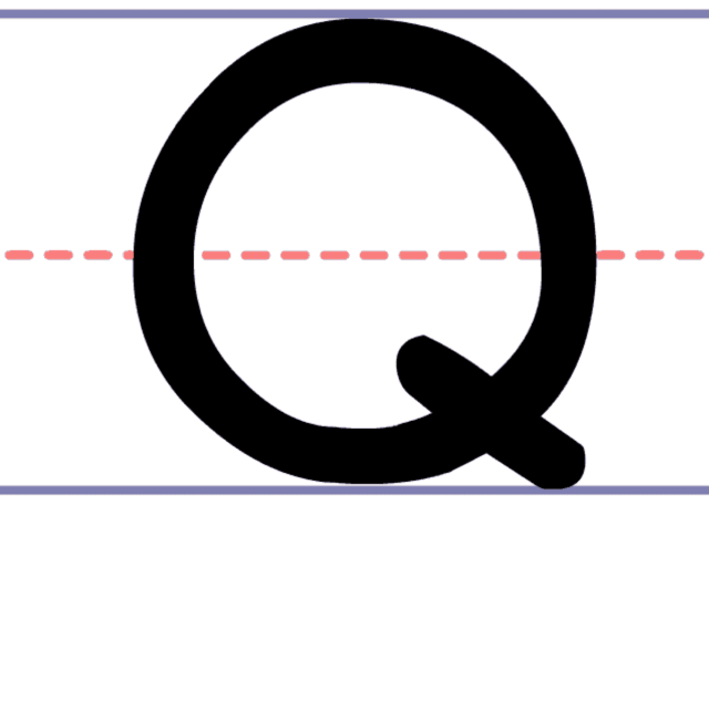 How to Write an Uppercase Q