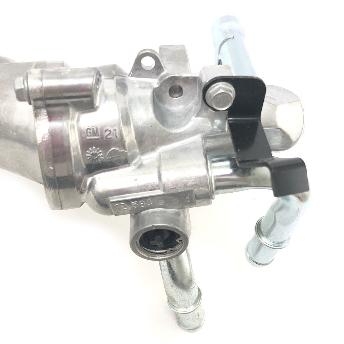 hight resolution of new gm 2 2l coolant housing thermostat outlet pipe assembly 24447273 15 10576