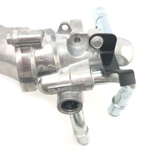 small resolution of new gm 2 2l coolant housing thermostat outlet pipe assembly 24447273 15 10576