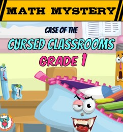 Back to School Math Mystery Activity - 1st Grade Worksheets Edition [ 945 x 945 Pixel ]