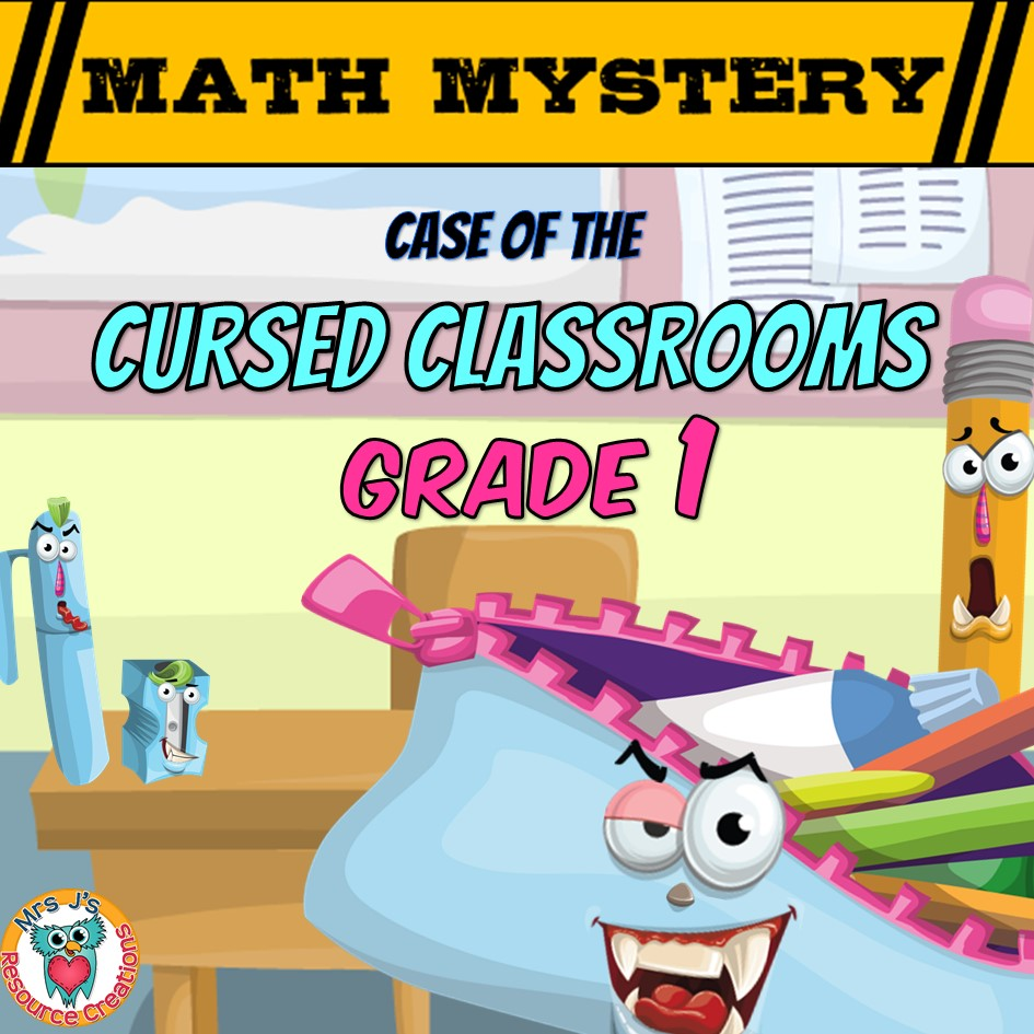 hight resolution of Back to School Math Mystery Activity - 1st Grade Worksheets Edition