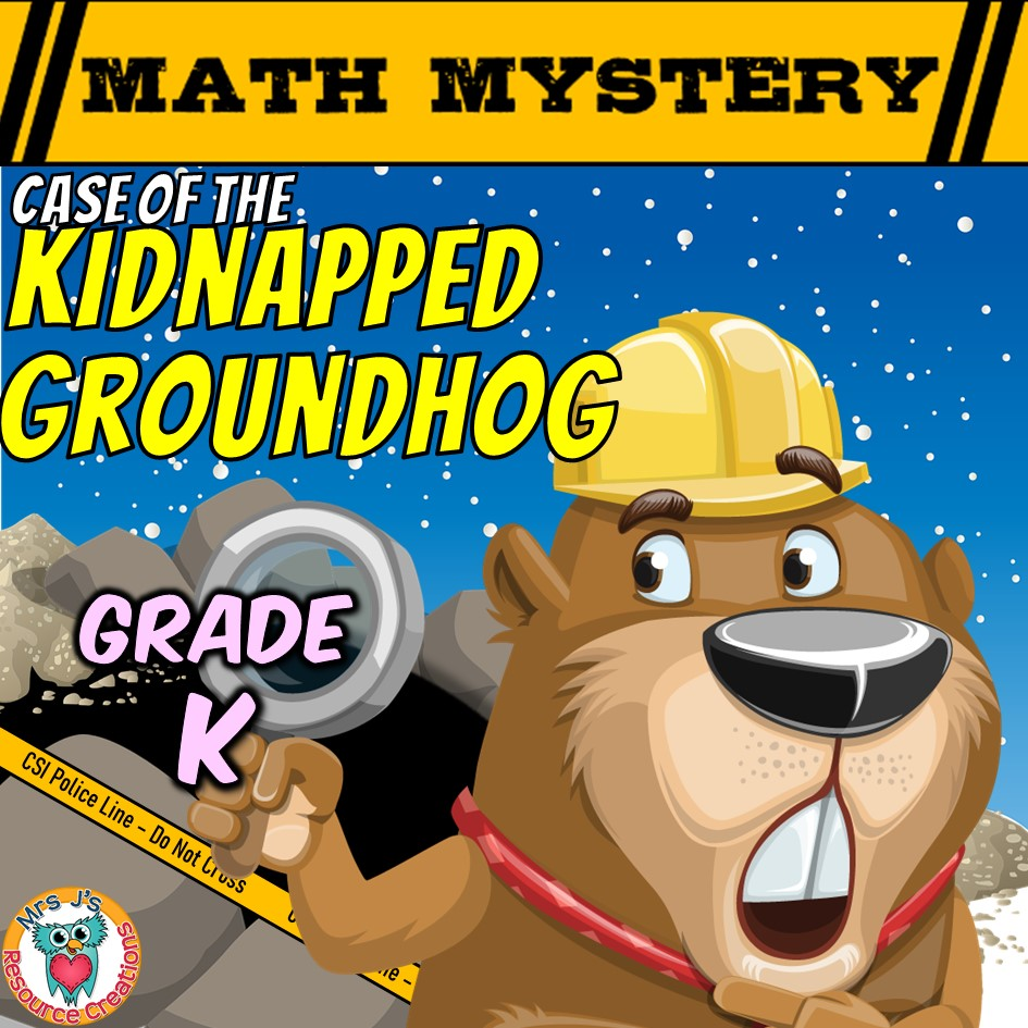 hight resolution of Kindergarten Groundhog Day Mystery Worksheets