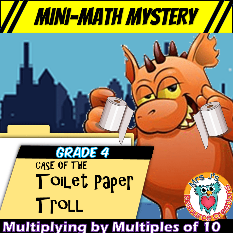 hight resolution of Free Mini-Math Mystery Activity for 4th Grade - Multiplying Single-Digit  Numbers by Multiples of Ten
