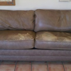 Leather Sofa Cleaning Repair Company Loveseat Bed White Tucson S Best Furniture Vinyl And Brown Before Dye