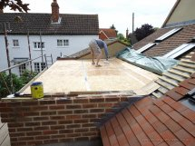 Building Flat Roof Construction