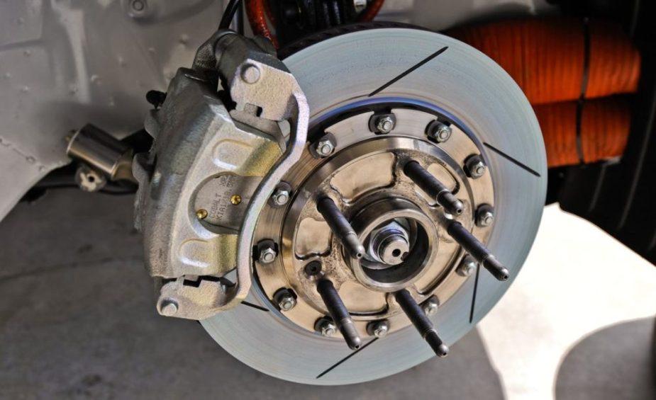 Kia Forte Koup Racecar Cobalt XR2 Brake Caliper and Slotted Rotor