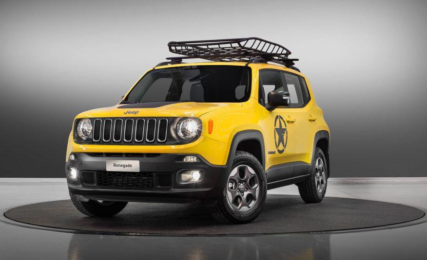 Jeep renegade 2017 specs