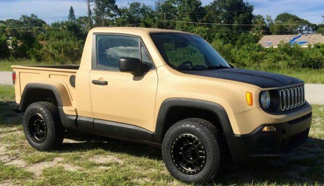 Custom Jeep Renegade Comanche