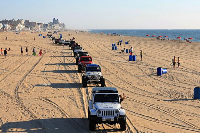 Ocean City Jeep Week >> Ocean City Jeep Week Turns This East Coast Beach Town Into A Jeep