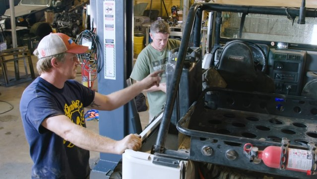 Watch the guys from Dirt Every Day prep a Jeep for some serious off-roading.