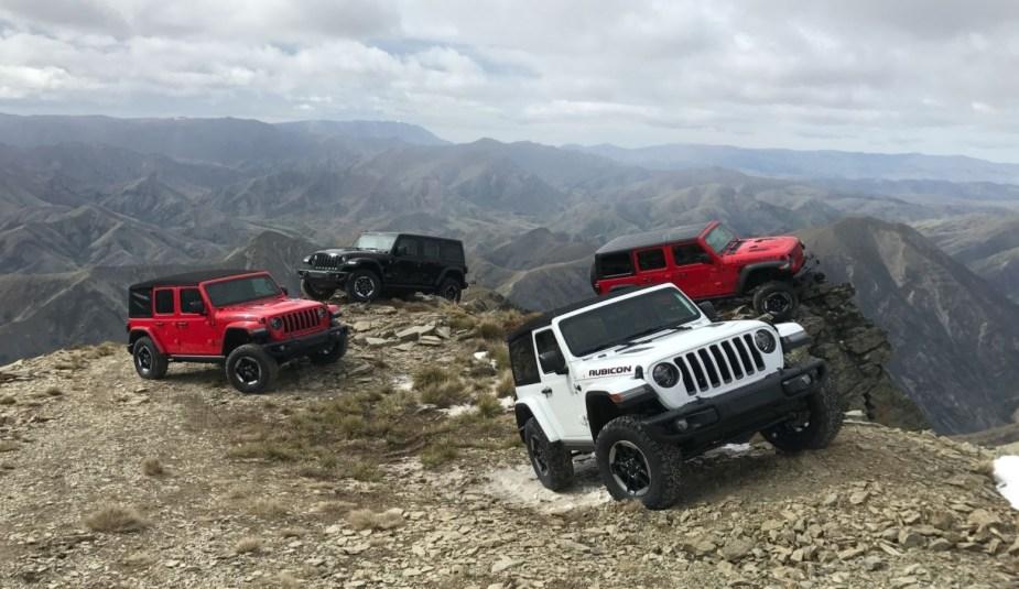 2018 Jeep Wrangler Lineup