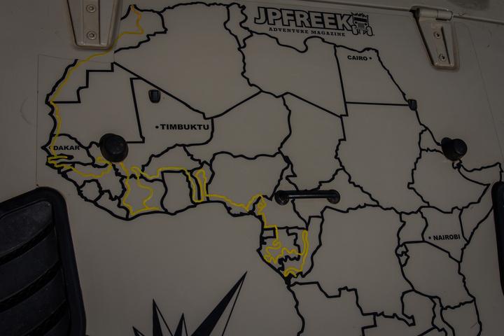 Jeep Hood Map