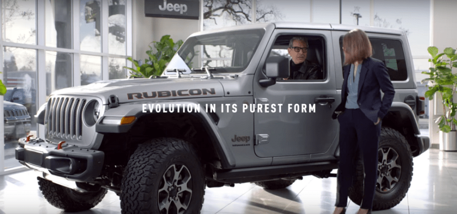Jeep Jurassic Super Bowl ad