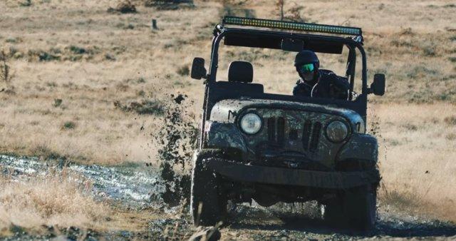 Mahindra ROXOR in the Mud