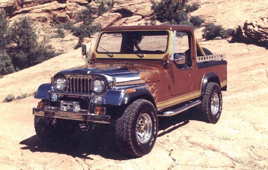 Custom 1982 Jeep Scrambler