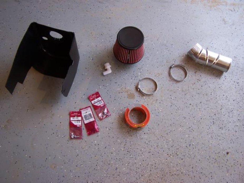 Wrangler Cold Air Intake DIY Parts