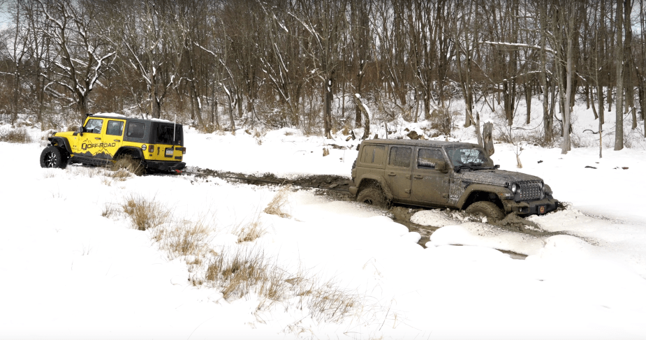 2018 Jeep Wrangler JL Snow Test