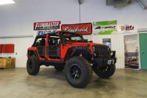 Sema students Jeep Wrangler Unlimited Build