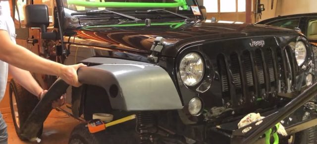 Jeep JK Fender Cut Tutorial