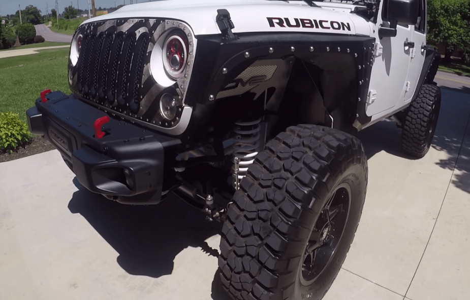 jk-forum.com Daily Driving a Jeep Wrangler Unlimited Rubicon on 37s