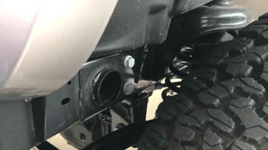 2018-19 JL Wrangler Frame Weld FCA recall