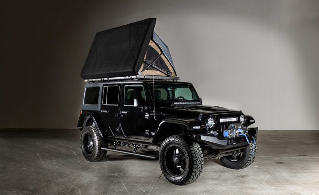 "American Fastbacks ""Badlands"" Jeep Wrangler Unlimited."