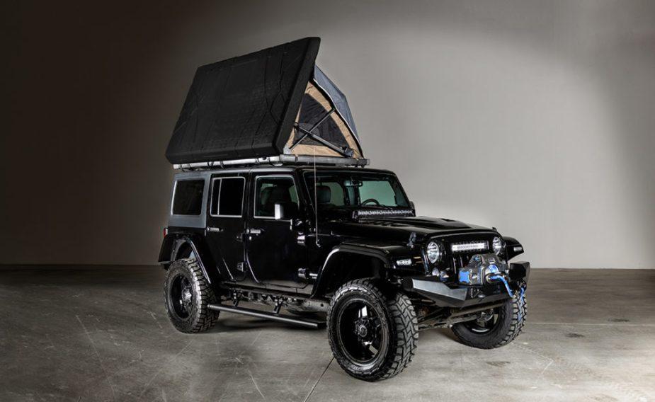 Badass Jeep Wrangler >> Badlands Jeep Is One Badass Turn Key Base Camp