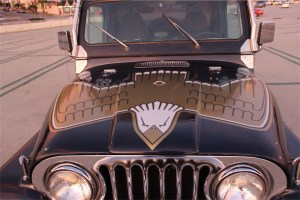 Refurbished and Well Accessorized Jeep CJ7