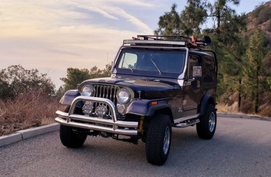 Refurbished and Well Accessorized Jeep CJ-7