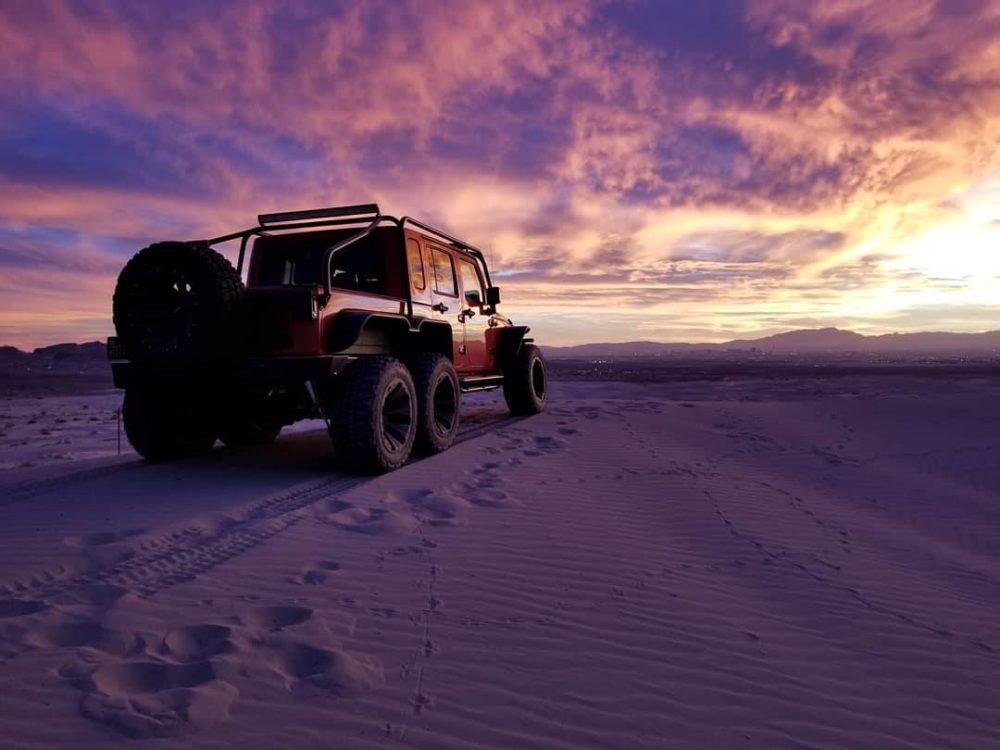 Hellcat Jeep Wrangler Rubicon 6x6