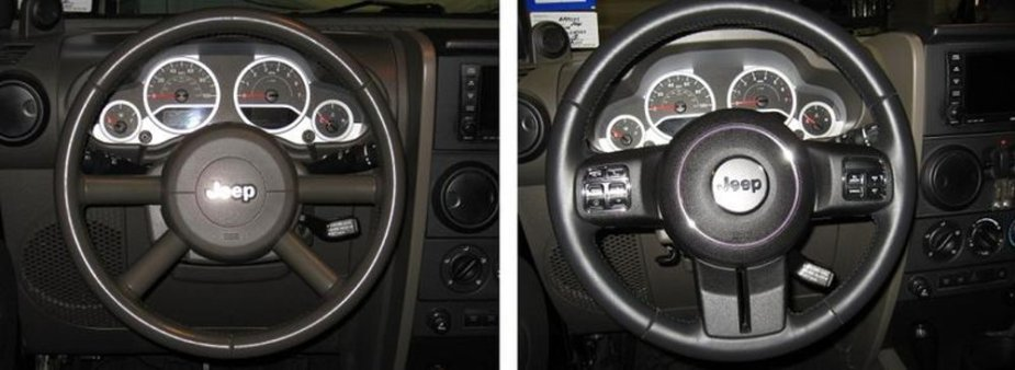 Jeep Steering Wheel 2008 and 2011