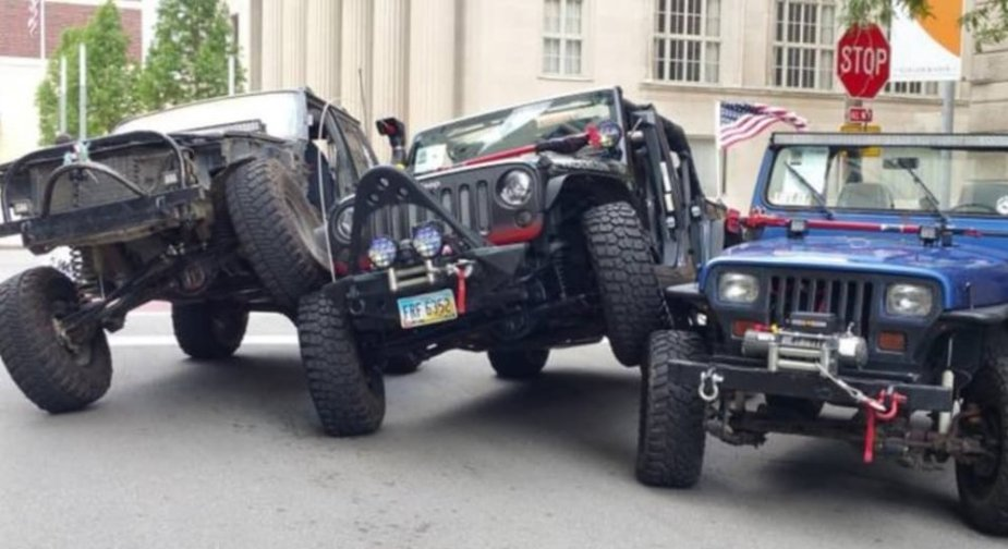 Jeeps Stacked Up