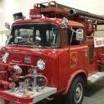 Classic Jeep Firetruck