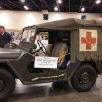Classic Jeep Ambulence
