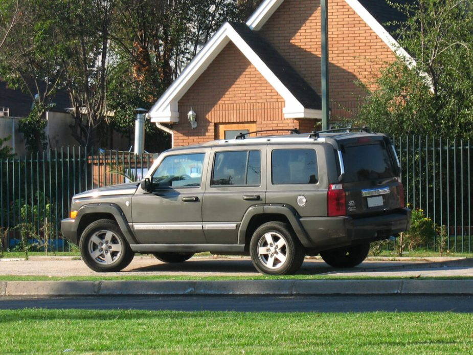 2007 Jeep Commander 4.7 Limited