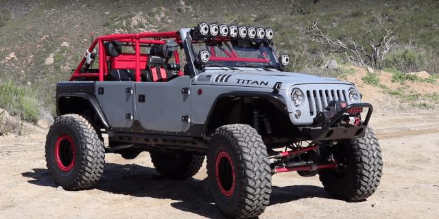 "Adam's Custom Jeep Wrangler Unlimited ""Titan"""