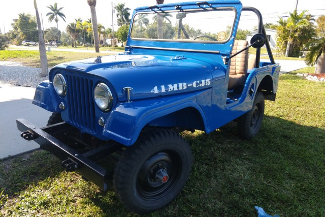 1961 Willys CJ5 Jeep