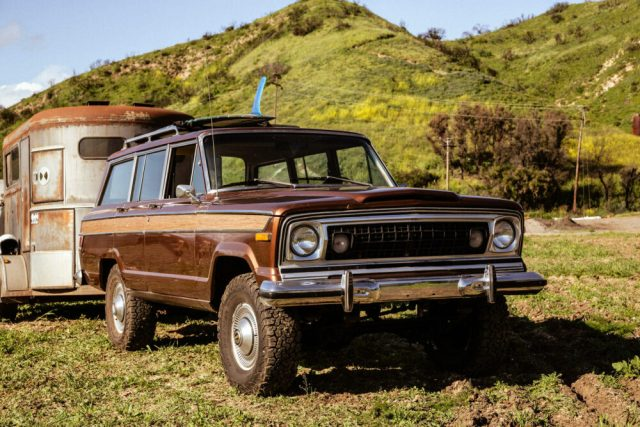 New Legend x Iron & Resin 1978 Jeep Wagoneer